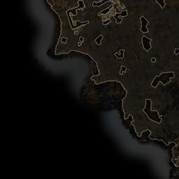 Cinder Wastes - Areas - Grim Dawn World Map