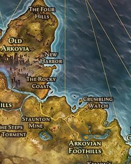 Grim Dawn World Map